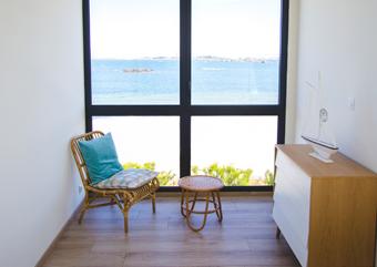 Chambre 3 avec vue sur mer